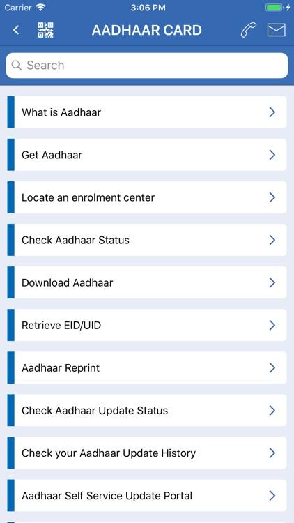 Govt Guide - PAN Card, Aadhaar screenshot-6