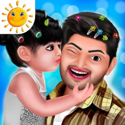 Aadhya's Spa Day With Daddy