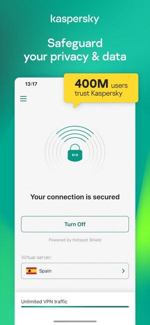 Secure VPN & Proxy – Kaspersky on the App Store