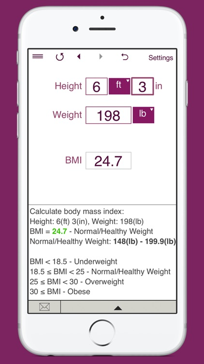 TDEE Calculator + BMR + BMI screenshot-5