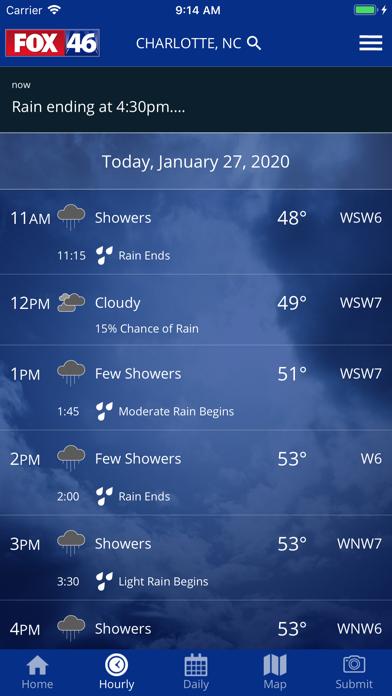 messages.download FOX 46 Weather Alerts & Radar software