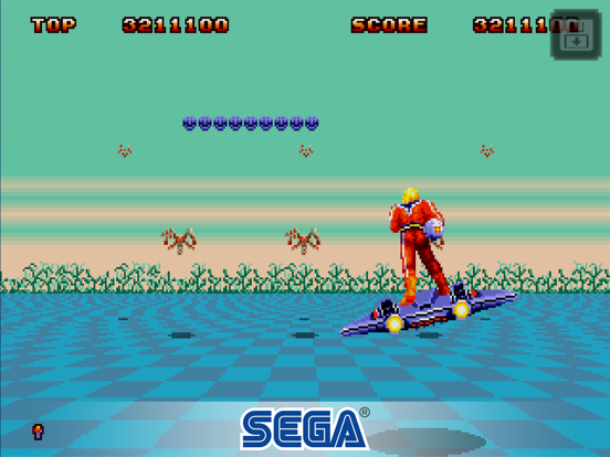 Space Harrier II Classic screenshot 8