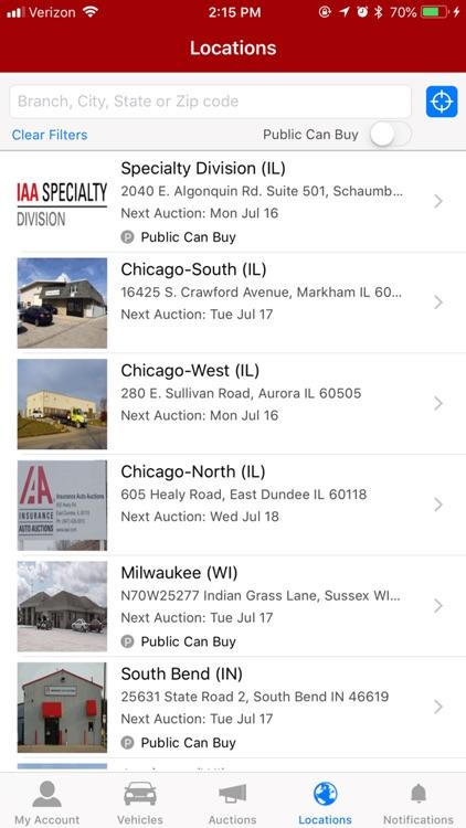 IAA Buyer Salvage Auctions screenshot-6