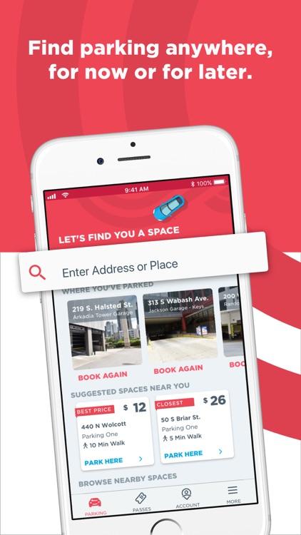 ParkWhiz - #1 Parking App screenshot-0