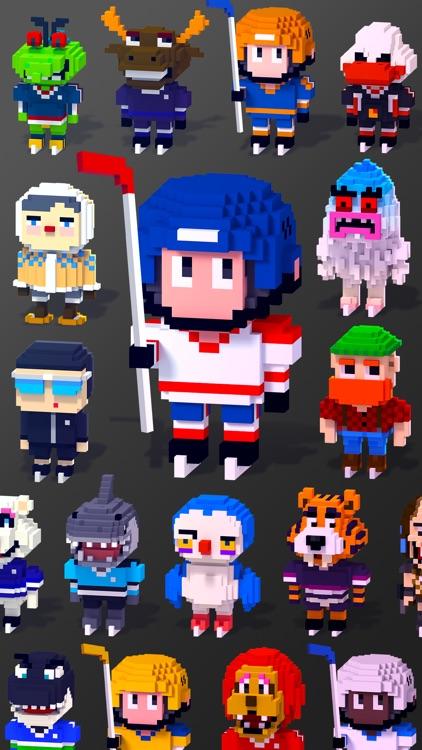 Blocky Hockey screenshot-3