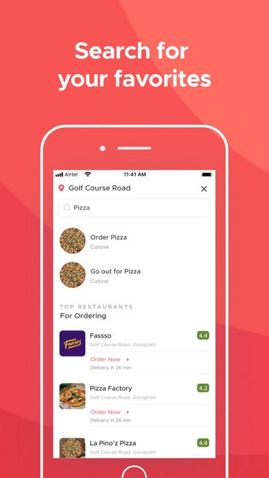 Screenshot for Zomato - Food & Restaurants in Canada App Store