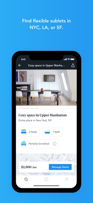 Flip: Sublets and Room Rentals on the App Store