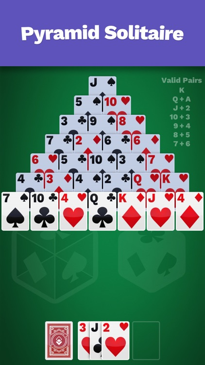 Pyramid Solitaire Cube screenshot-0