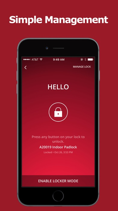 Master Lock Vault eLocks by Master Lock Company, LLC  (iOS