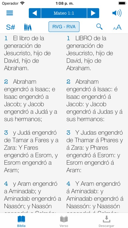 Biblia Reina Valera con Strong screenshot-4
