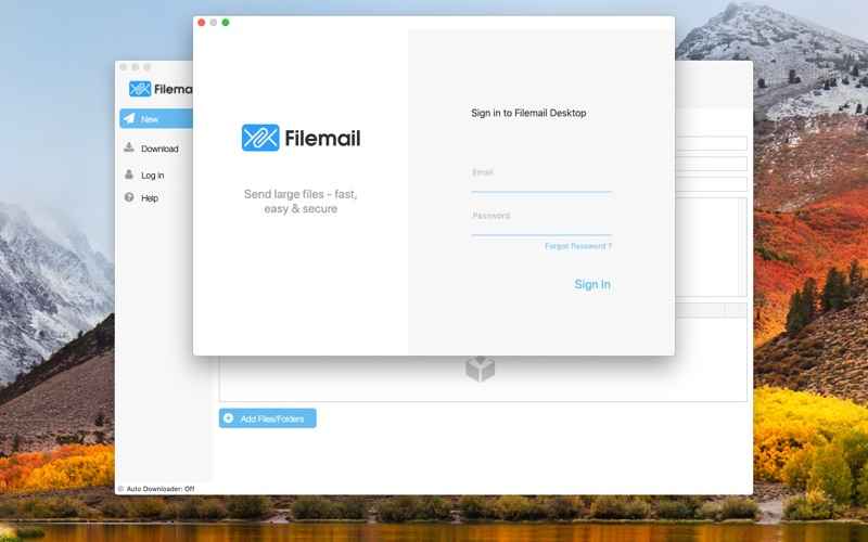 Filemail for Mac