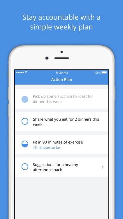 Intent - Weight Loss Coach screenshot-4