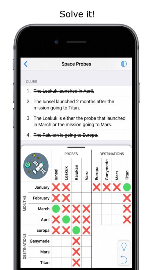 Logic Grid Puzzles】版本记录- iOS App版本更新记录|版本号