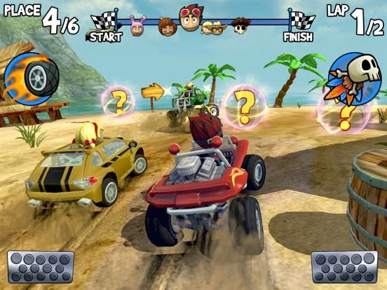 Beach Buggy Racing на iPad