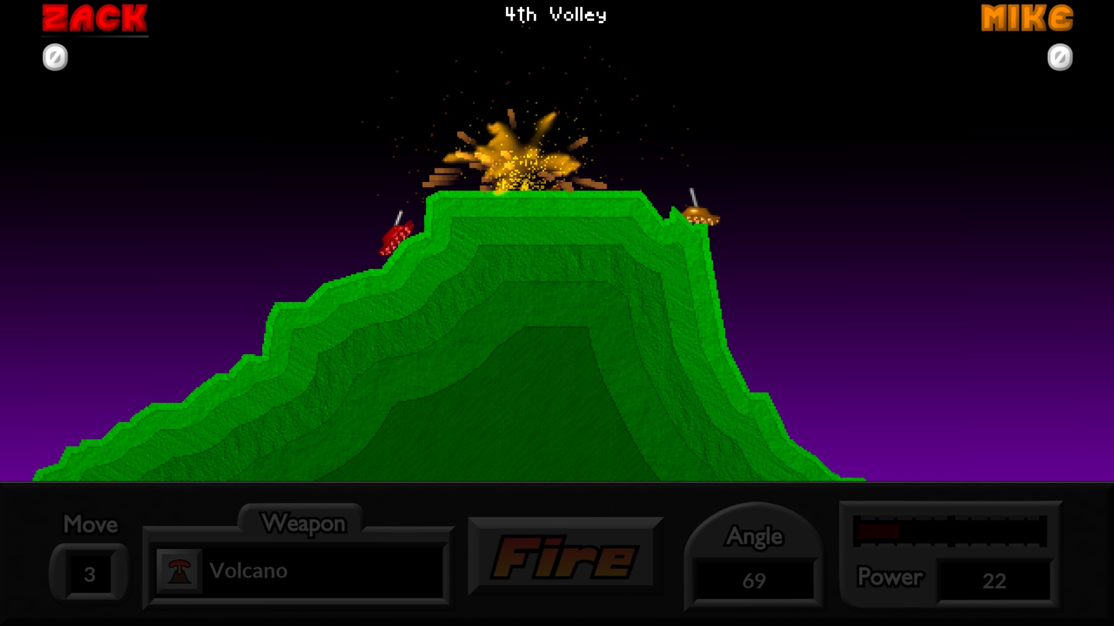 Pocket Tanks Deluxe Screenshot