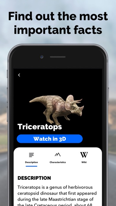 Dinosaurs in AR: Evolution screenshot four
