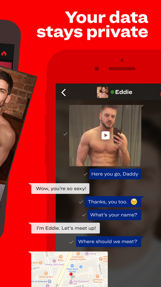 The same as gay to the app scruff and it