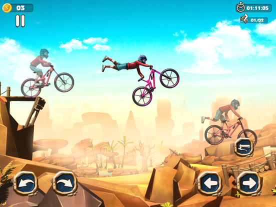 Dirt Bike Racing Stunts screenshot 2