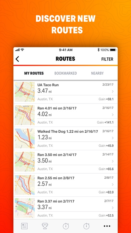 Map My Ride by Under Armour screenshot-3