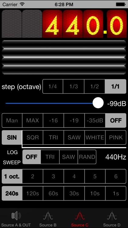Diapason Audio Generator
