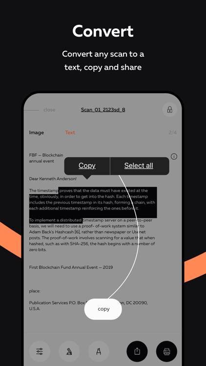 ScanFax: Doc Scanner & Fax Pro screenshot-3