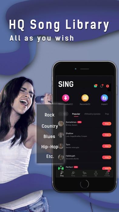 messages.download Sing(Vsing): Karaoke Apps software