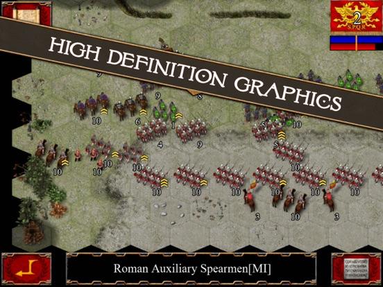 Ancient Battle: Rome на iPad