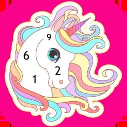 Wonder Color - Color by Number