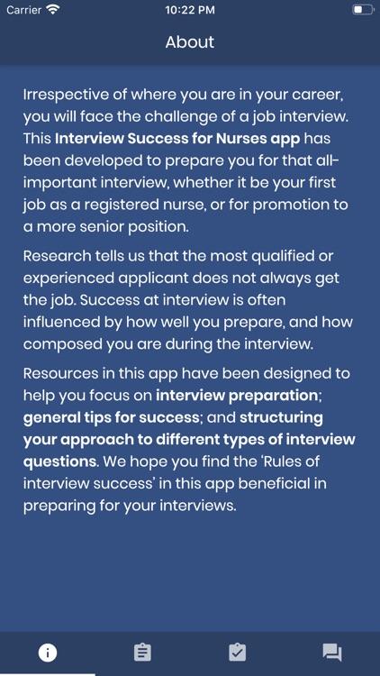 Interview Success for Nurses
