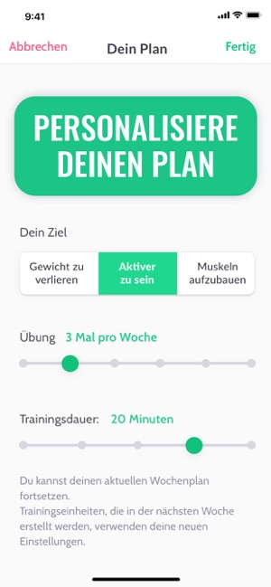 30 Tage Fitness Challenge Im App Store