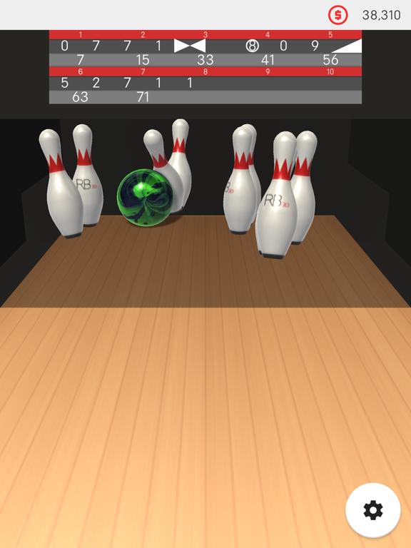 RealisticBowling3D screenshot