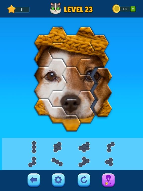 Hexa Jigsaw Puzzle™ screenshot 9