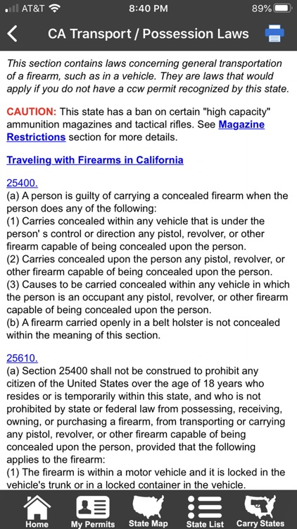 CCW – Concealed Carry 50 State screenshot-5