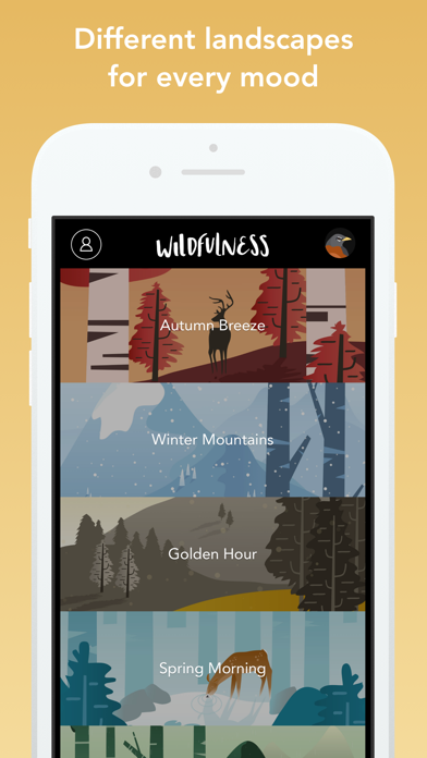 Wildfulness: Meditate & Relax Screenshots