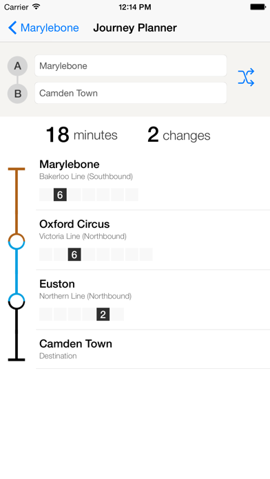 London Tube Live Pro Screenshot