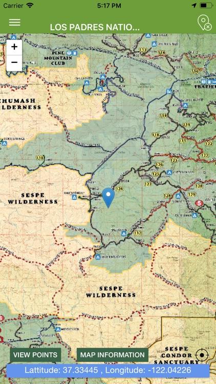 OHV Trail Map California screenshot-6