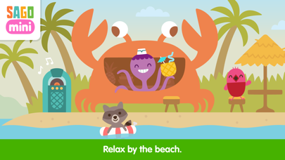 Sago Mini Vacation Screenshot