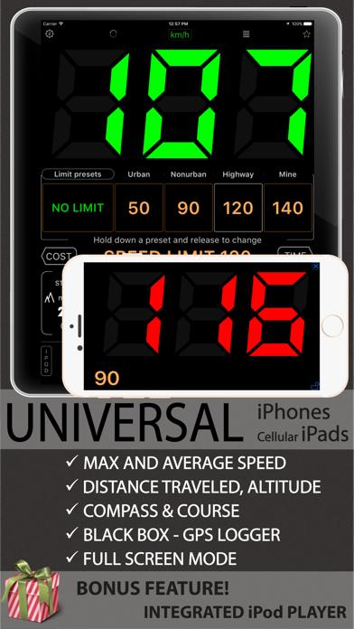Speedometer 55 Start. GPS Box. screenshot four