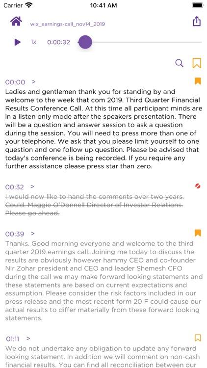Simon Says Transcription screenshot-6