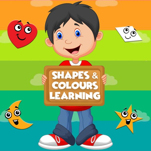 Shapes & Colours Fun Learning