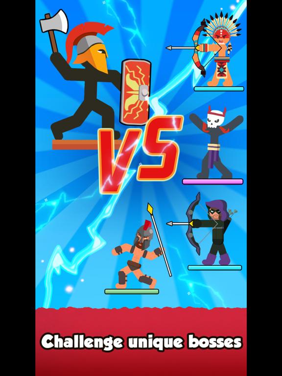 iPad Image of The Warrior - Top Stickman