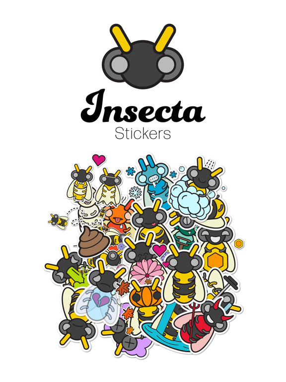 Insecta Stickers screenshot 5