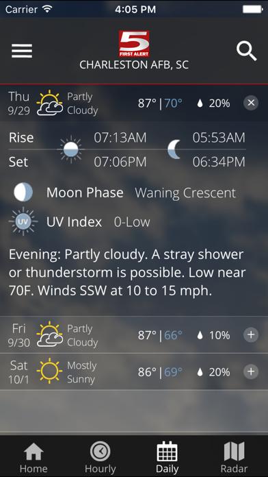 Wcsc Live 5 Weather review screenshots