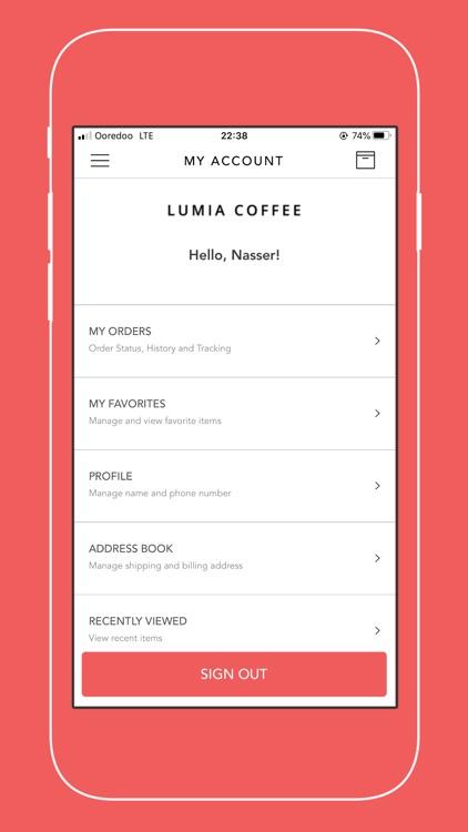 Lumia Coffee screenshot-5