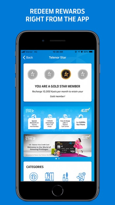 MyTelenor, Myanmar by Telenor Myanmar (iOS, United States
