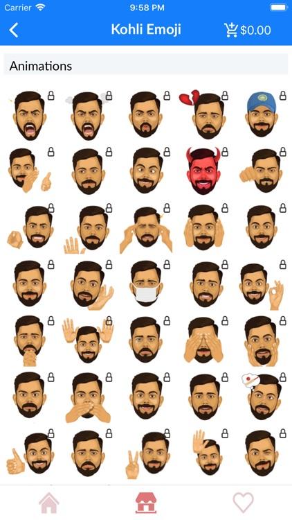 IPL Cricket Emoji Stickers