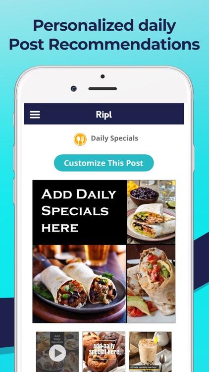 Ripl: Create Social Video Ads screenshot-4