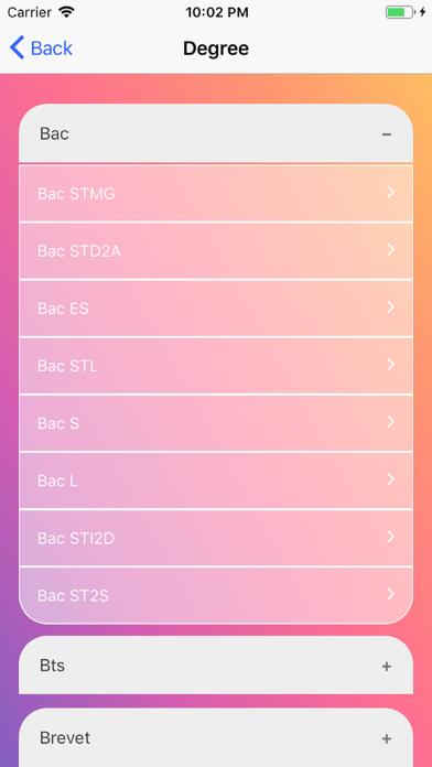 School exams screenshot 1