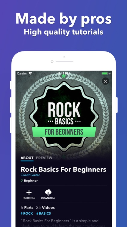 Coach Guitar Lessons tuner tab screenshot-5