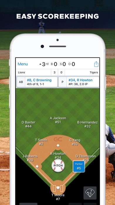 Screenshot for GameChanger Baseball Softball in China App Store